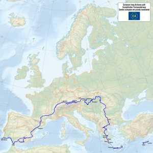 Europa Fernwanderweg E4