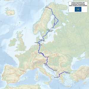 Europa Fernwanderweg E6