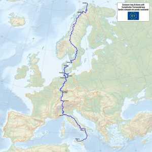 Europa Fernwanderweg E1