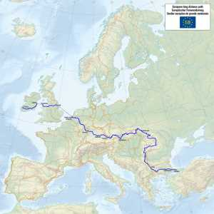 Europa Fernwanderweg E8
