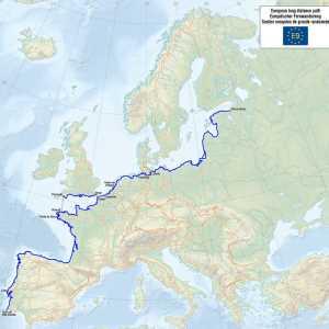 Europa Fernwanderweg E9