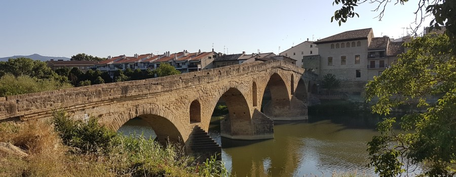 Jakobswege irgendwo in Spanien